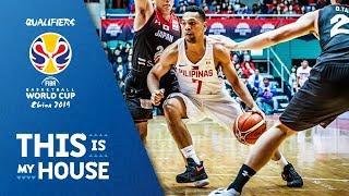 Japan vs Philippines - Highlights - FIBA Basketball World Cup 2019 Asian Qualifiers