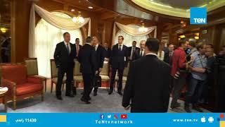 """الإعلامي عمروعبد الحميد يتحدث مع """" لافروف""""  وزير الخارجية الروسي قبل بداية قمة """"السيسي - بوتين"""""""