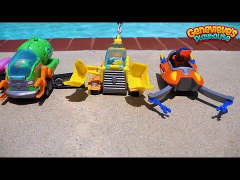 Paw Patrol Underwater Rescue and Superhero Movie