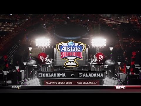 2014 Sugar Bowl OU vs Alabama