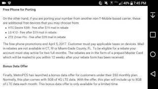 MetroPCS Will Give You Free Phones & Bonus Data on the $50 Monthly Plan