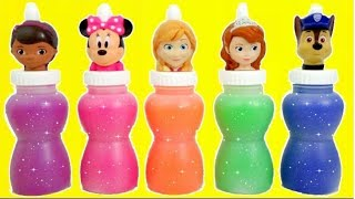 DISNEY MICKEY MINNIE MOUSE, DOC MCSTUFFINS, DISNEY PRINCESS, Sofia the First, SLIME TOY SURPRISES