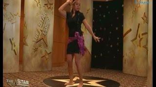 """#نجمة_العرب : رقص ودلع من متسابقة سورية في مشهد من """"الراقصة والطبال"""""""