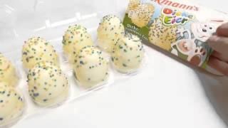 DICKE EIER - DICKMANN'S EASTER EGGS - GERMAN CANDY - toy for children.mp4