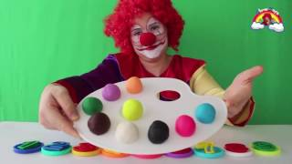 Top Learn Colors with Play Doh & Learn Numbers 1 to 9 For Children