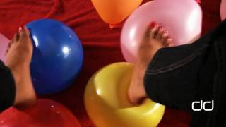 Darla TV - Balloon Fetish, Foot Tease, Looner Balloon Pop