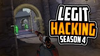 CS:GO | Legit Hacking - Road To Global Elite (Season 4) // 54 Kills Yeah Babe... #RIPBhop