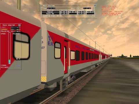 Xxx Mp4 MSTS Indian Railways TVC Rajdhani Blasting At Nevade Road 3gp Sex