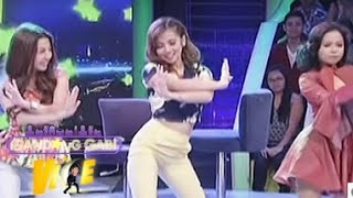 Ella, Kiray, Donnalyn dance to