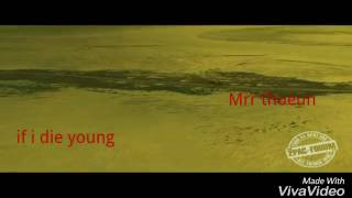 khmer 1jivit 2017 , ពេលខ្ញុំស្លាប់ទៅ ,  ( if i die young )by Mrr thoeun |  Full MV copy record Rap