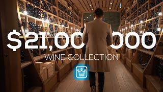 Inside a $21 Million Wine Collection