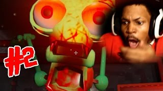 SQUIDWARD IS... HELP ME | Five Nights At The Chum Bucket: Part 2