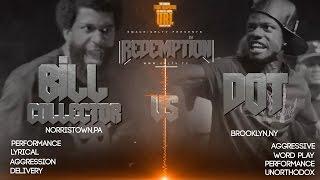 DOT VS BILL COLLECTOR SMACK/ URL RAP BATTLE