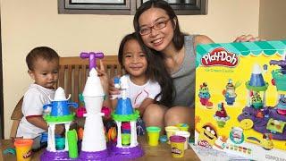 Rejeki Anak Rajin | Zara dapat Surprise Playdoh Ice Cream Castle dari Tante Sophia