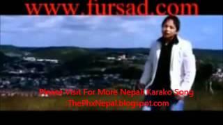 Nepali Karaoke Song By Jagdish Samal Lajalu Meri Maya