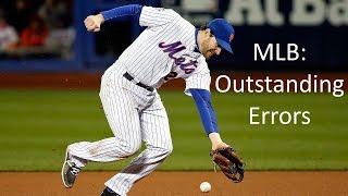 MLB: Outstanding Errors