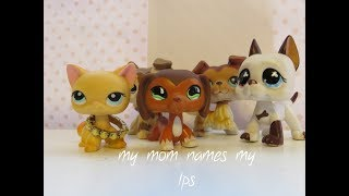 MY MOM NAMES MY LPS