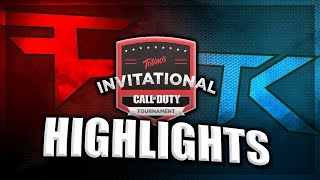 COD BLACK OPS 3: TEAM KALIBER vs FAZE CLAN & RISE NATION #Totinos50k HIGHLIGHTS!!