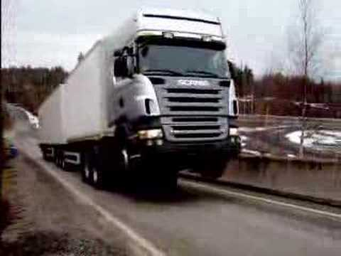 Power of Sweden Scania rules the truck world