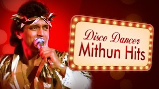 Best of Mithun Chakraborty Songs JUKEBOX (HD) - Evergreen Old Hindi Songs - Dance Songs