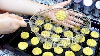 حلويات العيد 2018 / حلوى بدون طابع لشرب الشاي ب بيضة واحدة اقتصادية جدا هشة تذوب في الفم