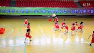 Chinese kids amazing basketball dance