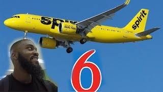 SPIRIT AIRLINES AND MOTEL 6 FOR THE WEEKEND! 🤢 EBC Jr. All American Camp Vlog