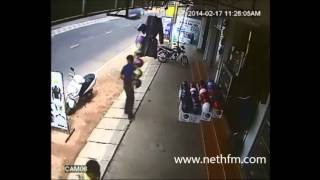 Negmobo Robbery Hidden Cam