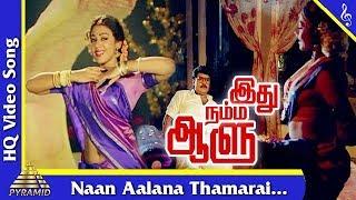 Naan Aalana Thamarai  Song | Idhu Namma Aalu Tamil Movie Songs| K. Bhagyaraj |Shobana| Pyramid Music