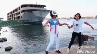 رقص دق  فاجر معتصم فوكس و يوسف بودي و محمد فاير علي مهرجان اركب الشلاحه 2018
