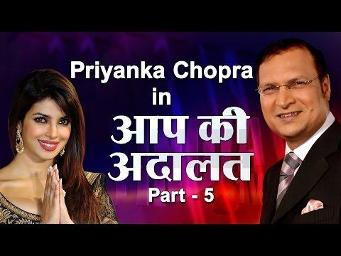 Priyanka Chopra In Aap Ki Adalat (Part 5)