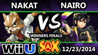 S@X - Nario (Robin, Dark Pit) Vs. LoF | Nakat (Fox) SSB4 Winners Finals - Smash 4 WiiU