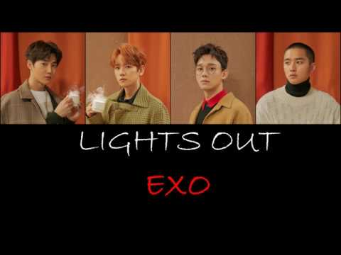 EXO (엑소) - Lights Out Lyrics (HANROMENG)