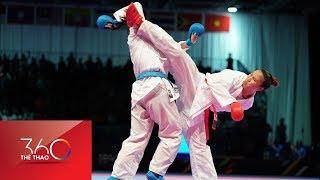 Cú ra đòn phút chót mang về HCV đầu tiên cho Karatedo Việt Nam SEA Games 29