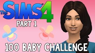 The Sims 4: 100 Baby Challenge - Pregnant Already? (Part 1)