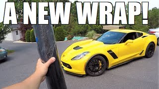 CARBON FIBER WRAP For The Z06!!!