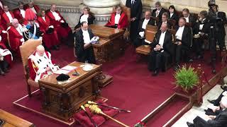 Intervento del Presidente CNF, Andrea Mascherin, all'inaugurazione Anno Giudiziario 2018