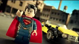 Lego Super Heroes Man of Steel Commercial