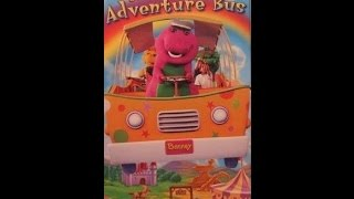 Opening & Closing To Barney's Adventure Bus 1997 VHS