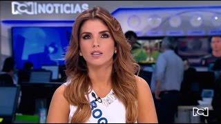 Prueba Real (Frente a Frente con la Camara) Miss Colombia 2016-2017
