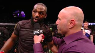 UFC 197: Jon Jones and Ovince Saint Preux Octagon Interview