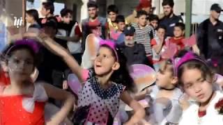 """مبادرة """"أمل وطموح"""" أطلقها فريق شعاع الامل من بلدة النعيمة التي تعرضت لويلات الحرب"""
