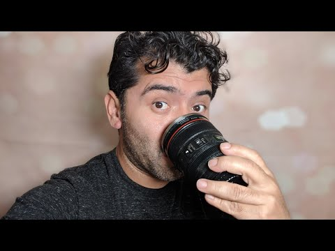 OMG I used my lens to drink the best Coffee Ever!