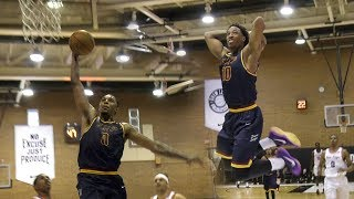 Nick Young & ANGRY Demar Derozan SHOW OUT at Drew League! CHALLENGED By USC Star Player!