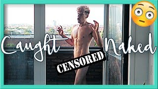 My hot neighbour saw me NAKED!
