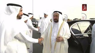 حاكم الشارقة يفتتح طريق خورفكان الجديد   مساء الامارات 15-04-2018