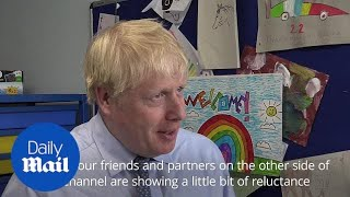 Boris Johnson still confident of agreeing a deal with EU