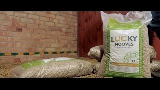 How to use Lucky Hooves horse bedding?