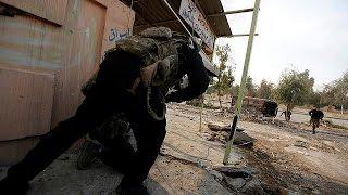 القوات العراقية تدخل جامعة الموصل وتسيطر على الجسر الثاني للمدينة