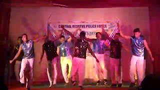CRPF GC pallipuram Tvm   Onam Celebration Chain Dance